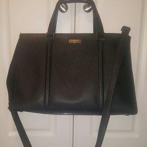 Kate Spade Large Saffiano Leather Black Handbag